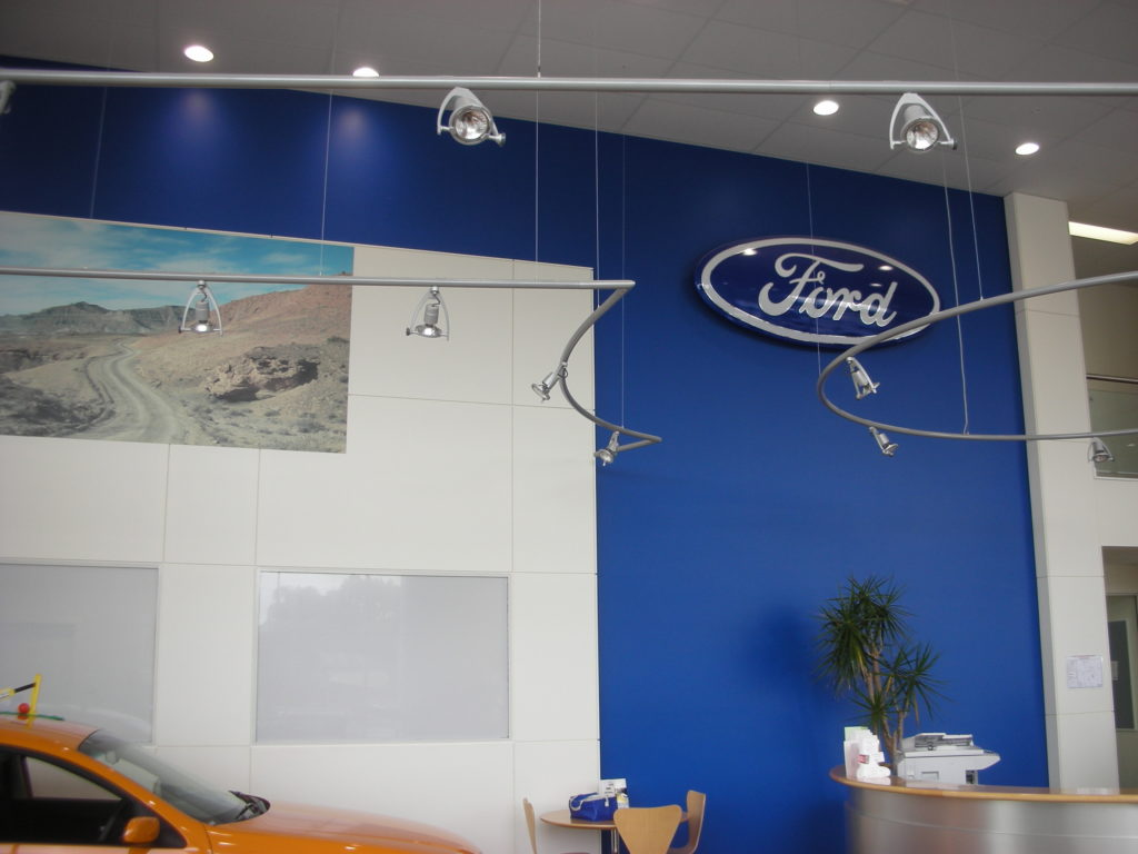 Bremer Ford by Birchall & Partners Architects