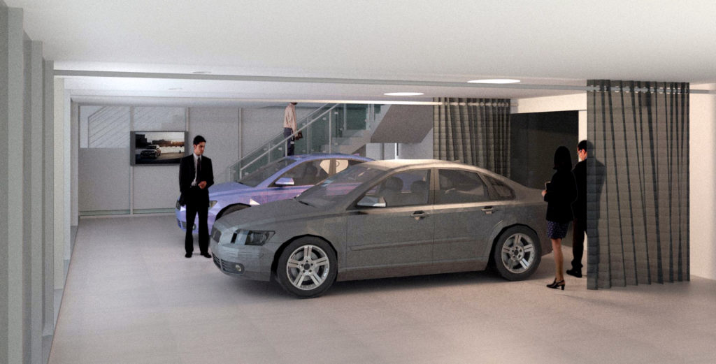 Volvo Concept by Birchall & Partners Architects